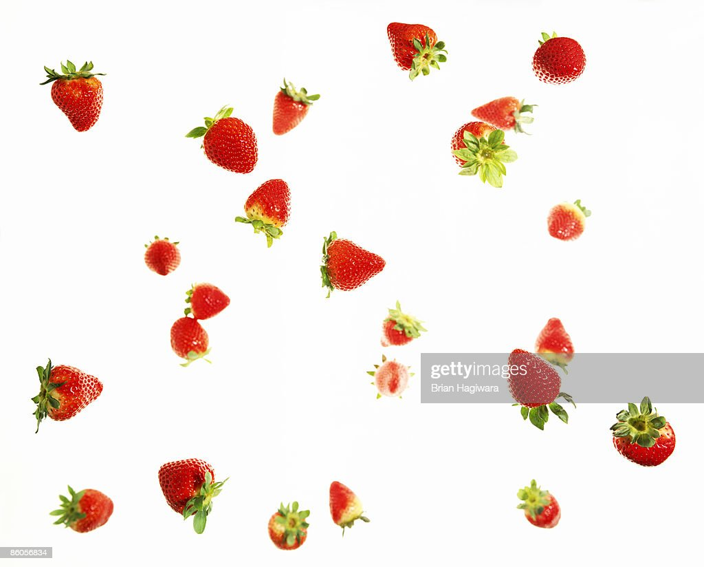 Falling strawberries