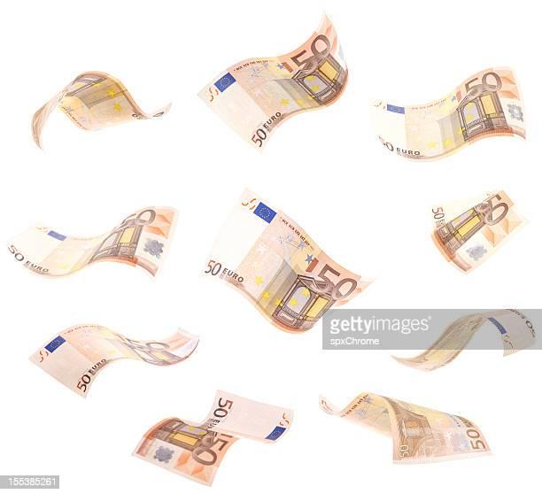 Fallenden wellenförmigen,-EUR