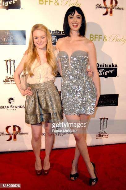 Fallon Goodson and Krysten Ritter attend OFFICIAL Film WRAPPARTY for Stardust Pictures BFF Baby at The Colony on November 17 2010 in Hollywood...