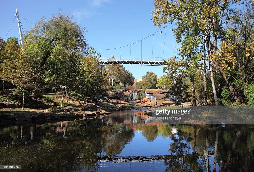Falls Park in Greenville