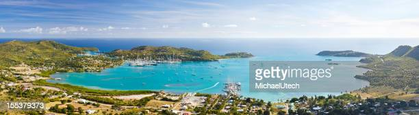 Falmouth Area Panorama, Antigua