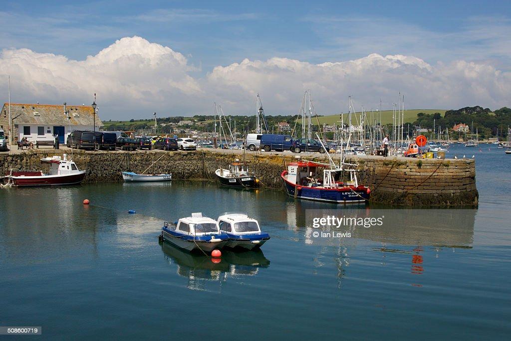 Falmouth Harbour : Foto de stock