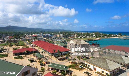 Falmouth Jamaica Shopping Area