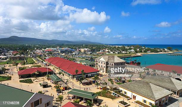 Falmouth Jamaica Shopping Area
