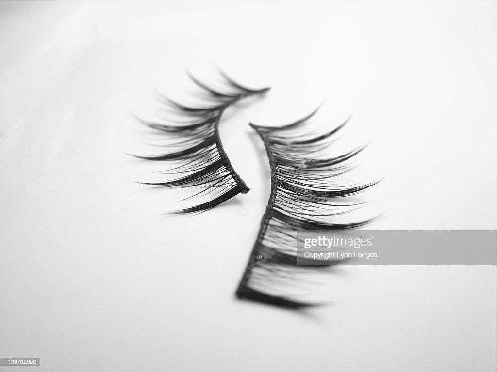 False eyelashes : Stock Photo