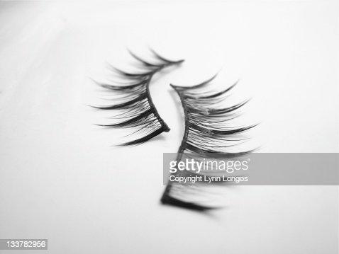 False eyelashes : ストックフォト
