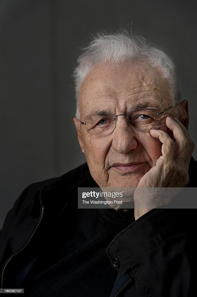 Famed architect Frank Gehry poses for a portrait outside Gehry Partners LLP on Tuesday April 10 2012 in Los Angeles CA Gehry has created a design for...