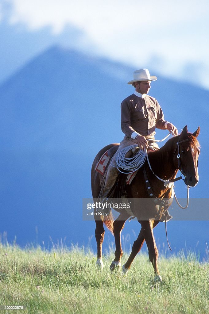 Filming of 'The Horse Whisperer'