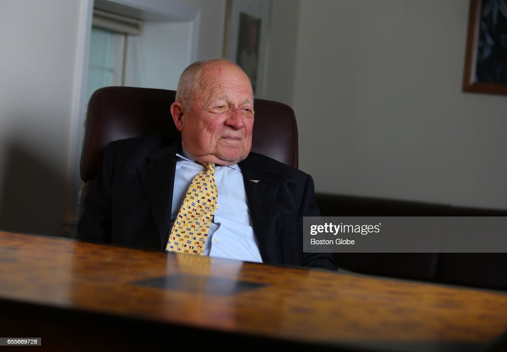 famed trial lawyer f lee bailey is pictured at his office in yarmouth me