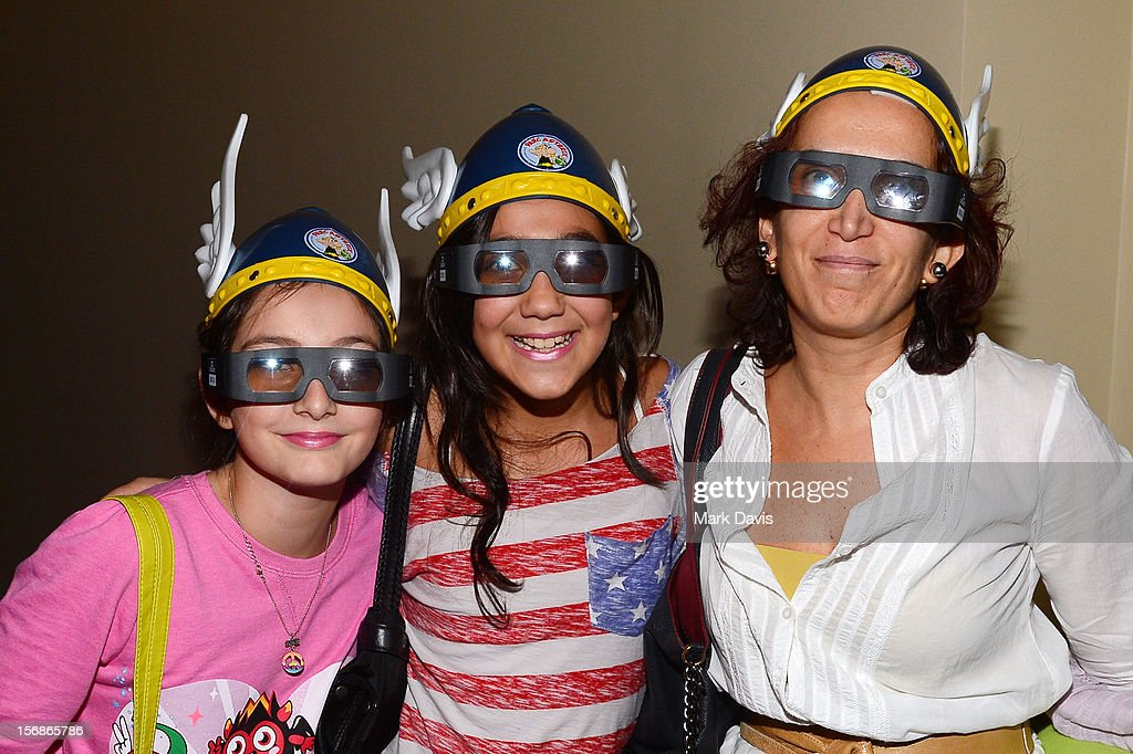 Families and Children attend the 'Asterix and Obelix 3D' Premiere during the 2012 Doha Tribeca Film Festival at o n November 23, 2012 in Doha, Qatar.