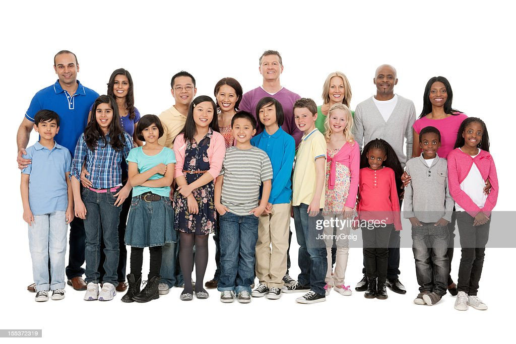 Families of the World : Stock Photo