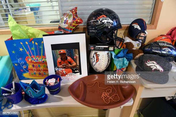 AURORA CO OCTOBER 18 Family and friends created a festive birthday room for Ryker Christensen on his first birthday at Children's Hospital on October...