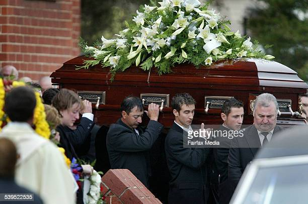 Family and friends gathered at St Mary's Catholic Church Ascot Vale yesterday to bury Pasquale Barbaro More than 500 people wanted to remember the...