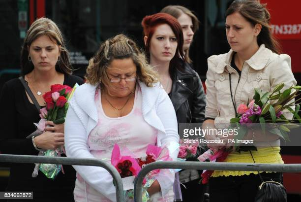 Family and friends of those killed in the July 7 bombings on the London Underground in 2005 mark the 3rd anniversary at Kings Cross Station London