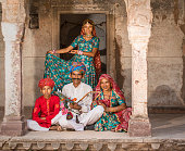 Family and traditional music group from Rajasthan, India