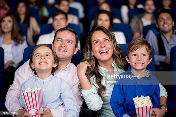 Familie im Kino