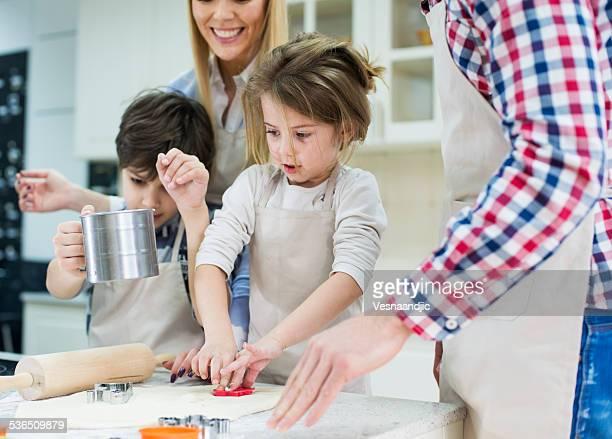 Famiglia Cuocere al forno