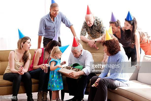 Familie Geburtstagsfeiern party