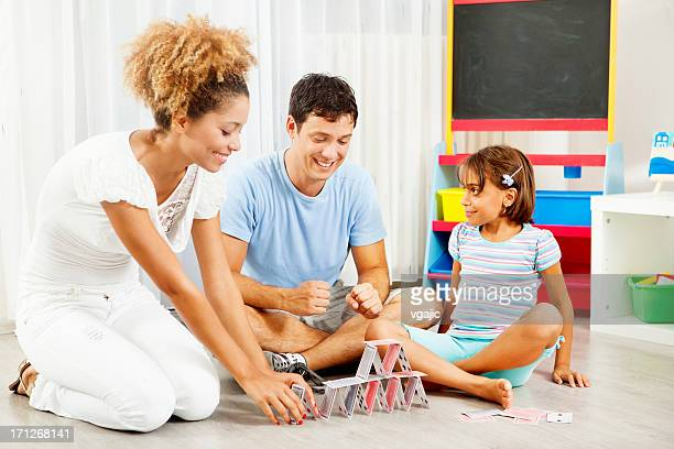 Family Building House of cards.