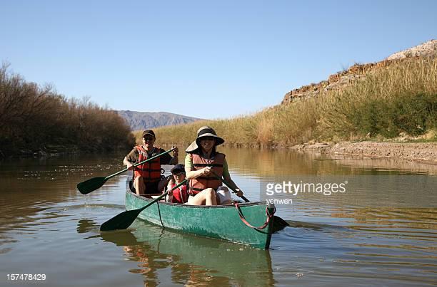 Family Canoe Fun