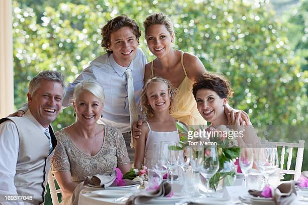 ご家族でのお祝い、ウェディングレセプション