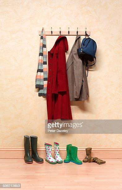 Family coat rack
