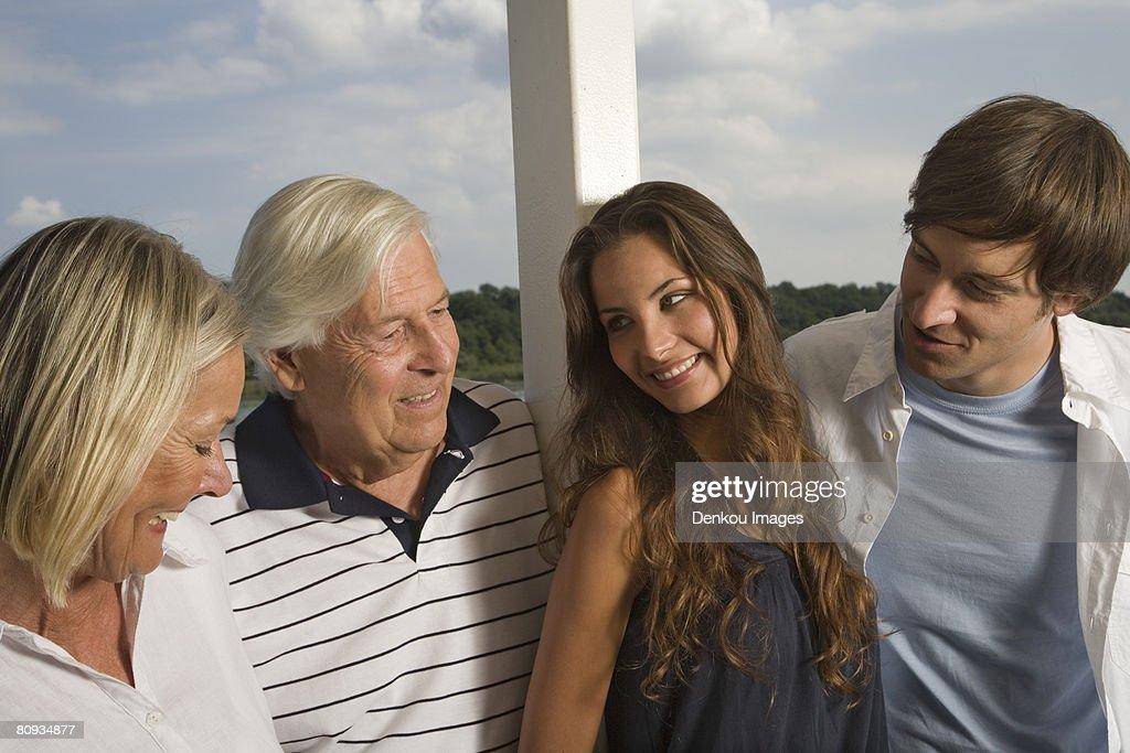 Family couples  : Stock Photo
