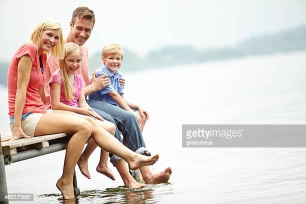 Tag mit der Familie