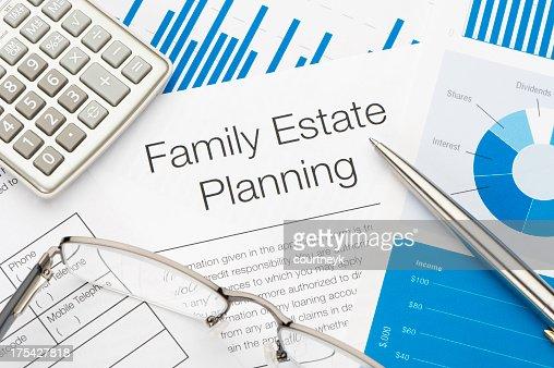 Famille documents de planification successorale