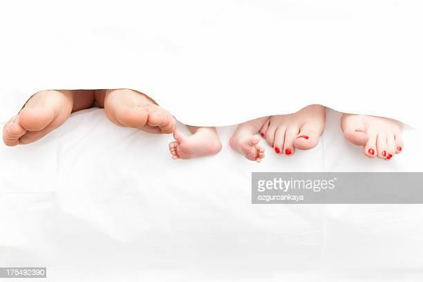 Famiglia piedi