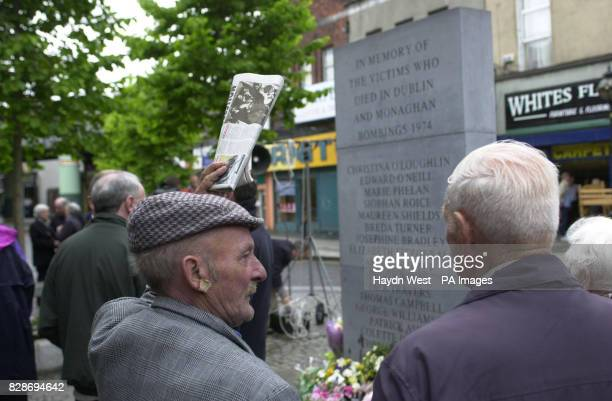 Family friends and well wishers gathered on Talbot Street Dublin Ireland for the 29th anniversary of the Dublin and Monaghan bombings which killed 26...