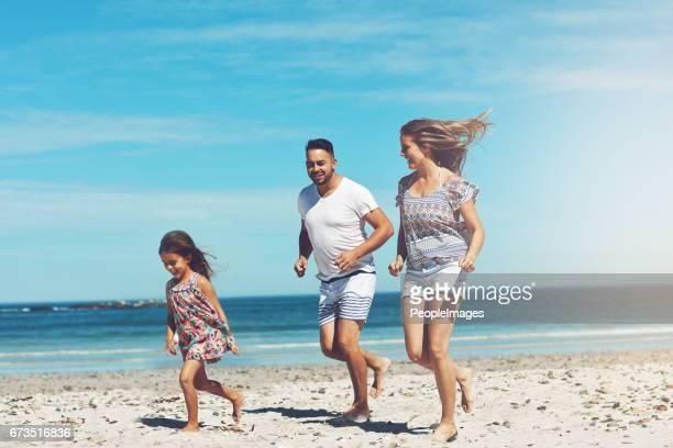 Family fun in the holiday sun