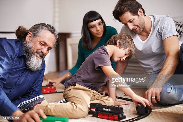 Family fun on the railroad
