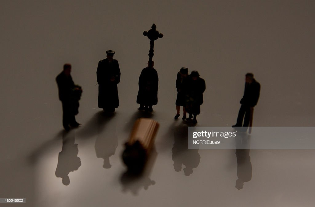 Family Funeral : Stock Photo