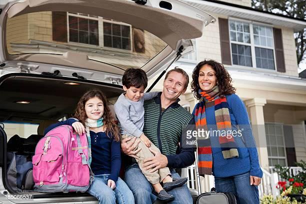 Família vai na Viagem em Estrada