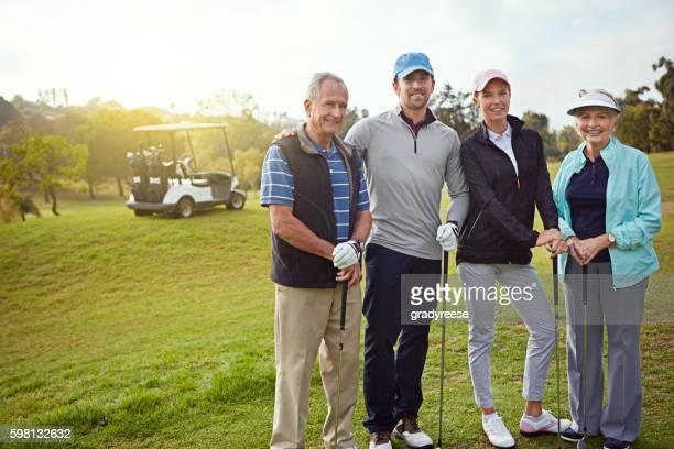 Family golf day