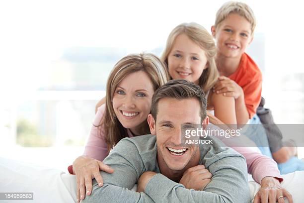 Family having fun.