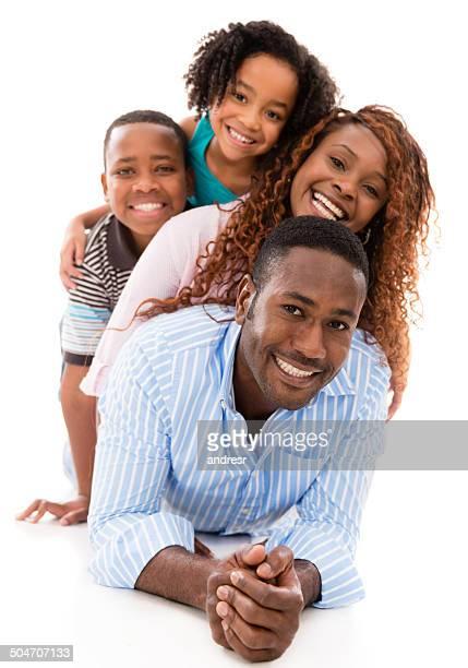 Famiglia avendo divertimento