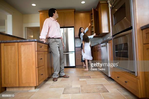 Familie Inspektion Küche im Haus zum Verkauf