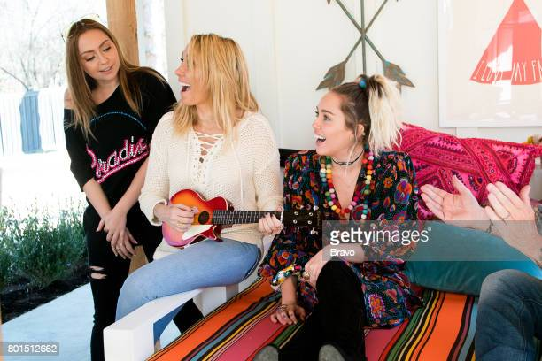 CONQUER 'Family Is Everything' Episode 106 Pictured Brandi Cyrus Tish Cyrus Miley Cyrus