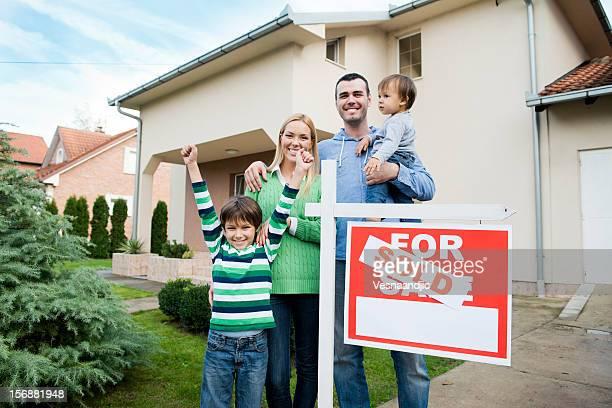 Família Basta comprar um hew Casa