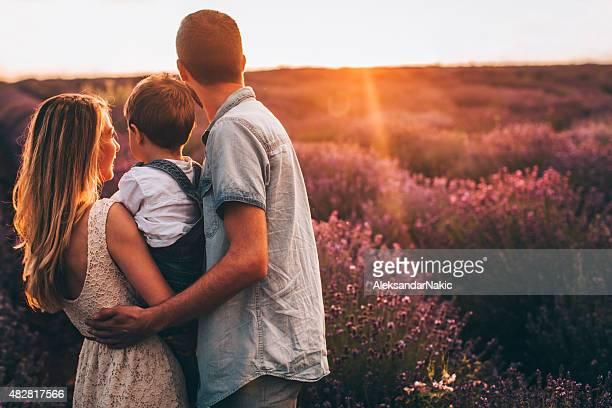 Familien lieben