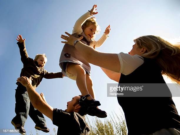 Famille;: Amoureux de la vie avec les enfants