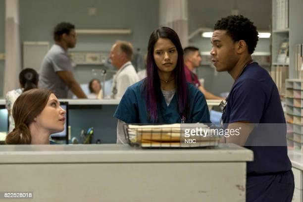 SHIFT 'Family Matters' Episode 406 Pictured Jill Flint as Jordan Alexander Tanaya Beatty as Shannon Rivera Robert Bailey Jr as Paul Cummings