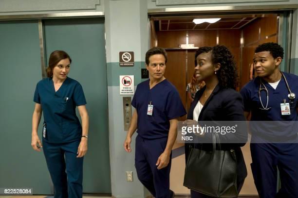 SHIFT 'Family Matters' Episode 406 Pictured Jill Flint as Jordan Alexander Scott Wolf as Scott Clemmens Erica Tazel as Bella Cummings Robert Bailey...