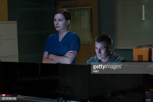 SHIFT 'Family Matters' Episode 406 Pictured Jill Flint as Jordan Alexander Brendan Fehr as Drew Alister