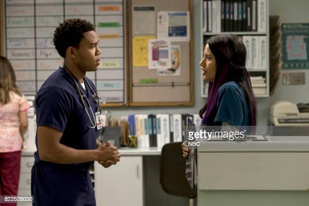 SHIFT 'Family Matters' Episode 406 Pictured Robert Bailey Jr as Paul Cummings Tanaya Beatty as Shannon Rivera