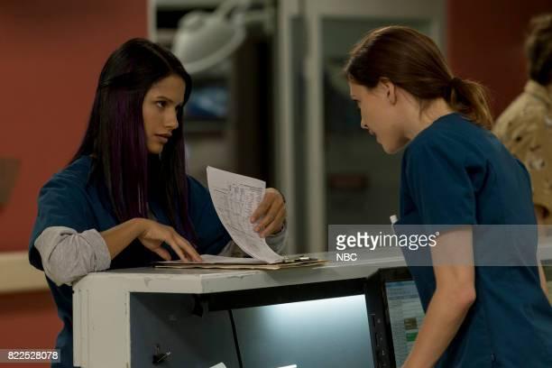 SHIFT 'Family Matters' Episode 406 Pictured Tanaya Beatty as Shannon Rivera Jill Flint as Jordan Alexander