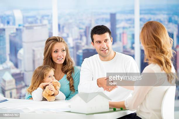 Family Meeting With Financial Advisor.