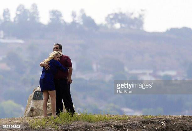 VERDE CA JULY 10 2014 Family members console one another as the search resumed today Thursday morning July 10 for a young man who may have drowned in...